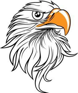 Eagle Head 11 Clip Art