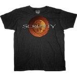 Joss Whedon's Serenity Movie Logo Men's T-Shirt (Apparel)By Ripple Junction