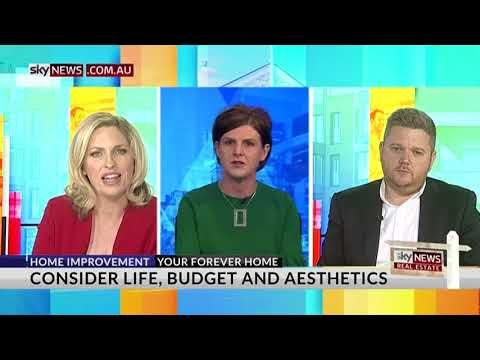 Latest Sky News Real Estate segment where I discuss material selections for your home.