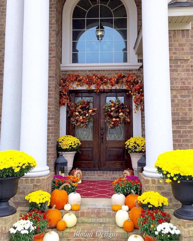 Top 25 Ideas About Fall Decorating Ideas On Pinterest
