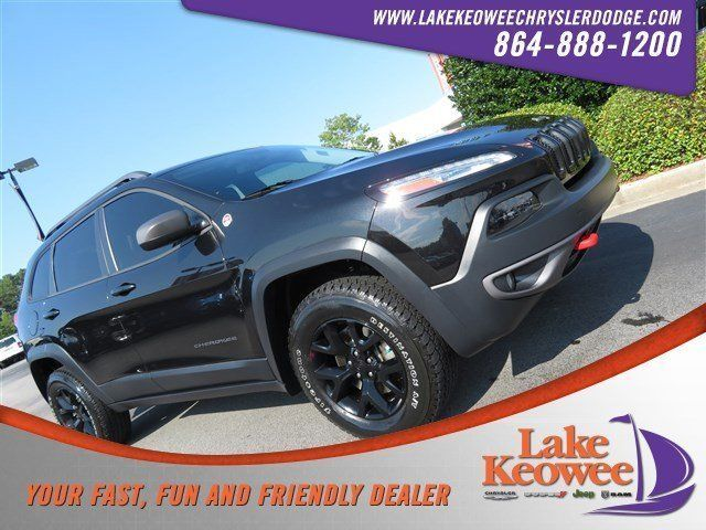 Awesome Awesome 2015 Jeep Cherokee Trailhawk 2015 Jeep Cherokee Trailhawk 39784 Miles Brilliant Black Crystal Pearlcoat Sport 2018