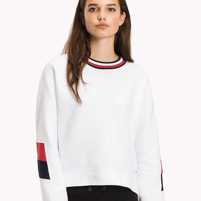 Image for Athletic Signature Stripe Sweatshirt from TommyUK