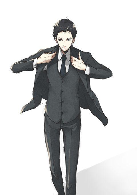スーツは最強です。