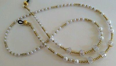 Beaded Reading Eye Sun Glasses Holder Chain Lanyard Strap Necklace