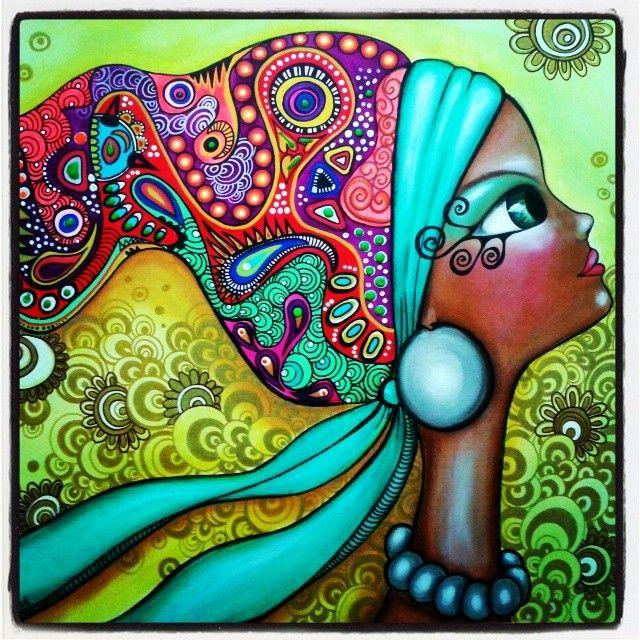 """Tânia"" by Romina Lerda Art @romilerdart"