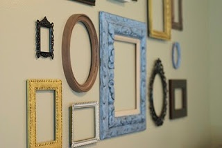 empty picture frames art