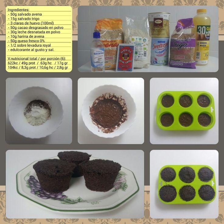 Receta: Brownies sanos y nutritivos!