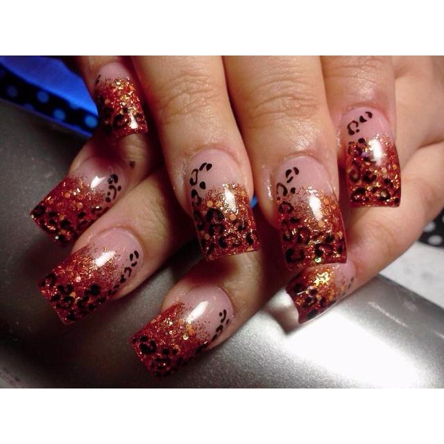 Cheetah!! How I love my nails