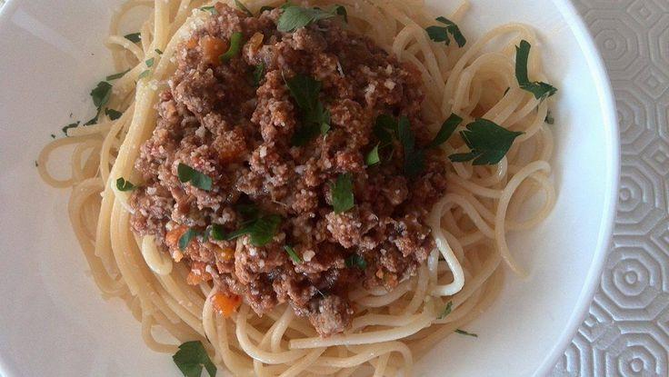 Bolognese sauce / Salsa boloñesa