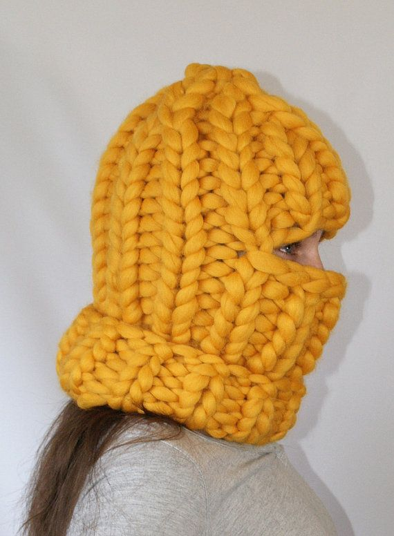 Chunky Balaclava Knitting Pattern : 112 best images about Headwear on Pinterest Wool, Snood and Beanie
