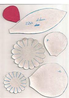 mis manualidades: Rosas papel crepe
