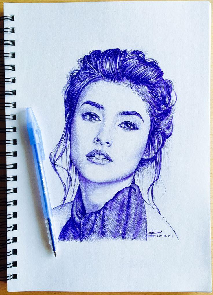 Liza Soberano - #Stabilo ballpoint pen
