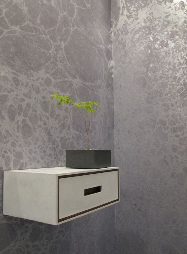 Metallic Marble Wallpaper by Calico Wallpaper