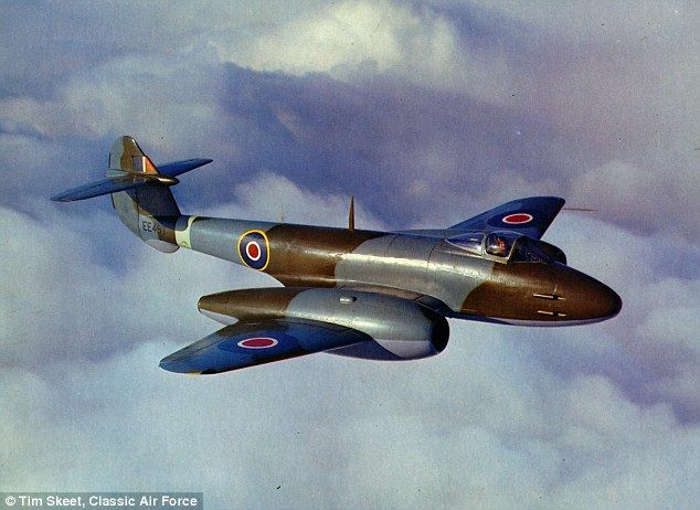 Seventy years ago today Britain's first front-line jet fighter - the Gloster Meteor - took to the skies at the height of the Second World War and one will fly again