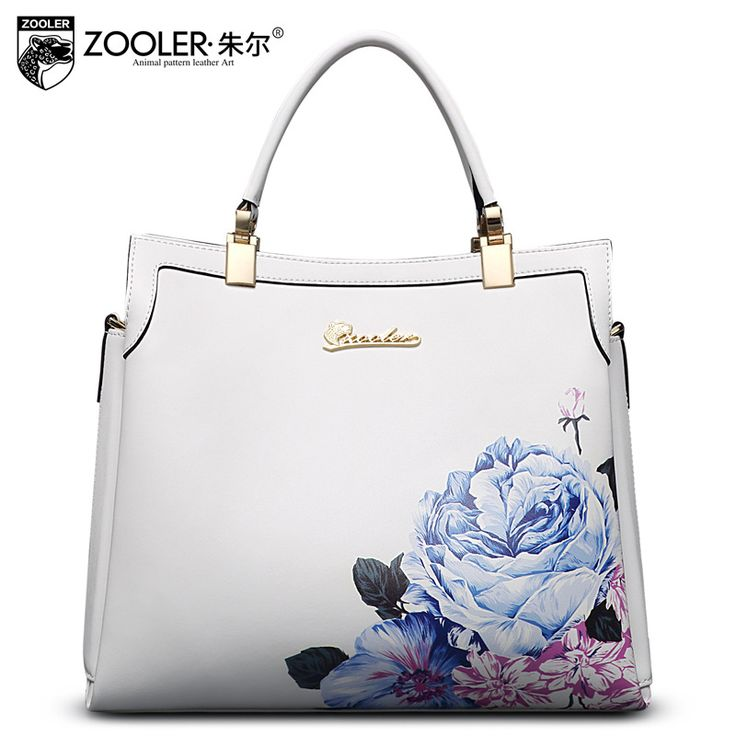 ZOOLER Brand Genuine Leather Handbag Fashion Floral Shoulder Bag Ladies Messenger Shoulder Bags Female Cowhide Handbags Bolsas-in Top-Handle Bags from Luggage & Bags on Aliexpress.com | Alibaba Group