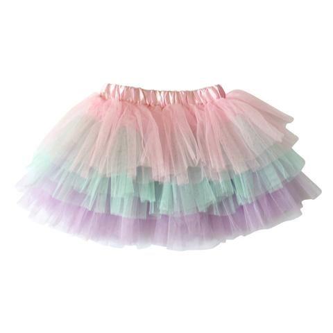 Pastel Rainbow Tutu   cheer tutu   cheerleader skirt   kids tutu skirts   toddler tutus   toddler tutu skirts   tulle skirt