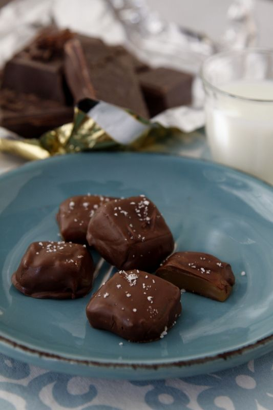 #Chocolate Covered #Peppermint Pattie #Caramels #Christmas Traditions #Holiday #Christmas Food Gifts