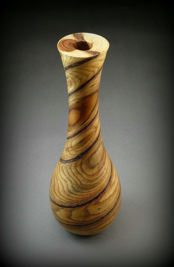 193 Best Wood Twig Pots Images On Pinterest Woodturning