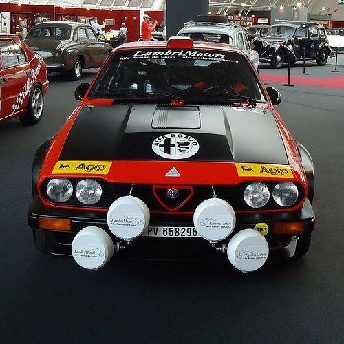 Alfa Romeo GTV 6 / Gruppo 4 (1980) (by Toprope) #alfa #alfaromeo #italiandesign