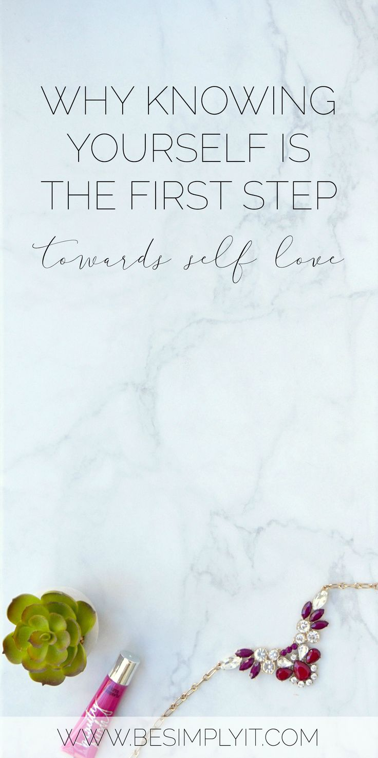 If you want to love yourself, you have to know yourself first. Learn how to take this vital step in your self-love journey today from Be Simply It!