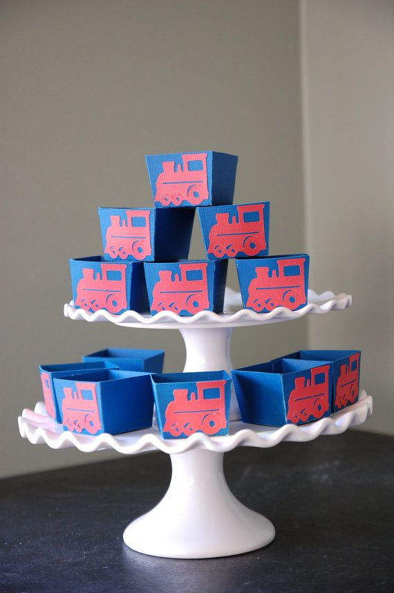 Train Candy Cups Train Party Supplies Train Birthday by GiggleBees, $10.00