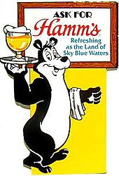 hamm's beer bear - Google Search