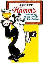 hamm's beer bear - Google Search