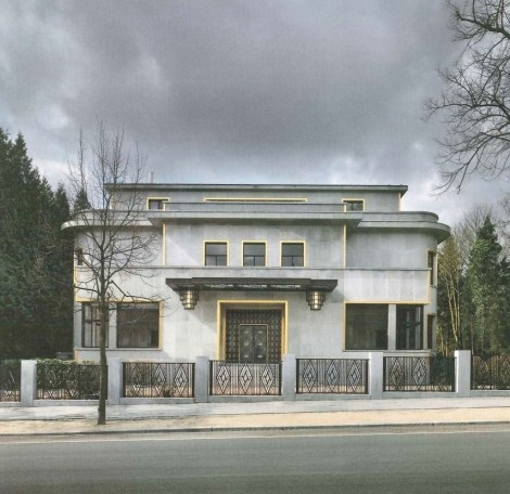 Art Deco Villa Empain in Brussels, Belgium is Restored to its Former Glory
