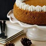 Pumpkin Cheesecake | My Baking Addiction
