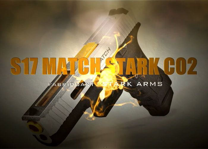Stark Arms S17 Match Blowback CO2 Review