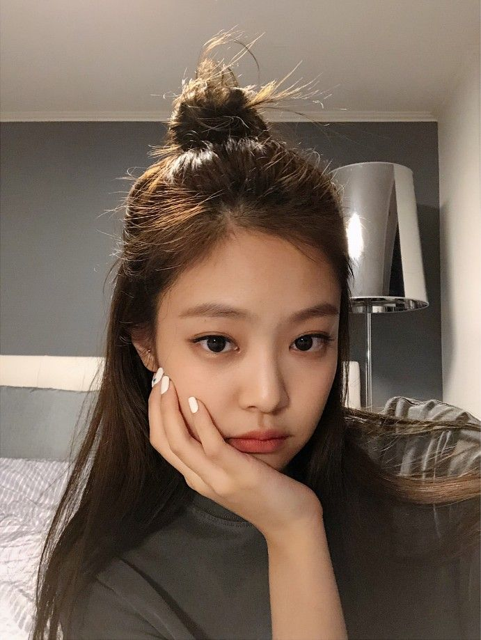 Jennie Blackpink Gaya Rambut Warna Rambut Gaya Rambut Korea