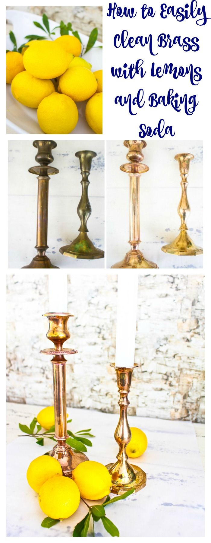 How to Easily Clean Brass. Clean brass using lemon and baking soda. Clean using natural ingredients. Spring cleaning tips.