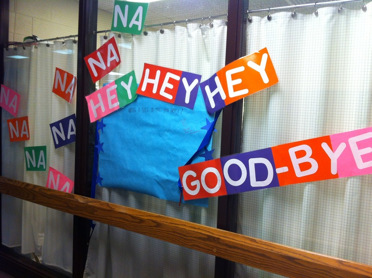 PTO says Goodbye to the fifth grade :( Good idea for the outgoing 4th graders at the end of the year...