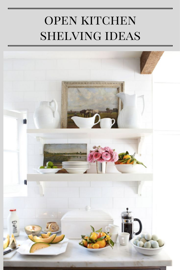 7 Effective Tips For Integrating Open Kitchen Shelving: 1000+ Images About Bloggers' Best Home Tips And Tricks On