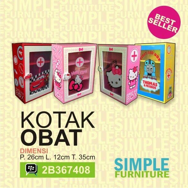 Kotak obat berkarakter  Www.simplefurniture.web.id  #kotakobat #simplefurniture #furnitureanak #malang