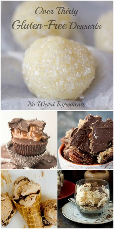 The best gluten-free dessert recipes!