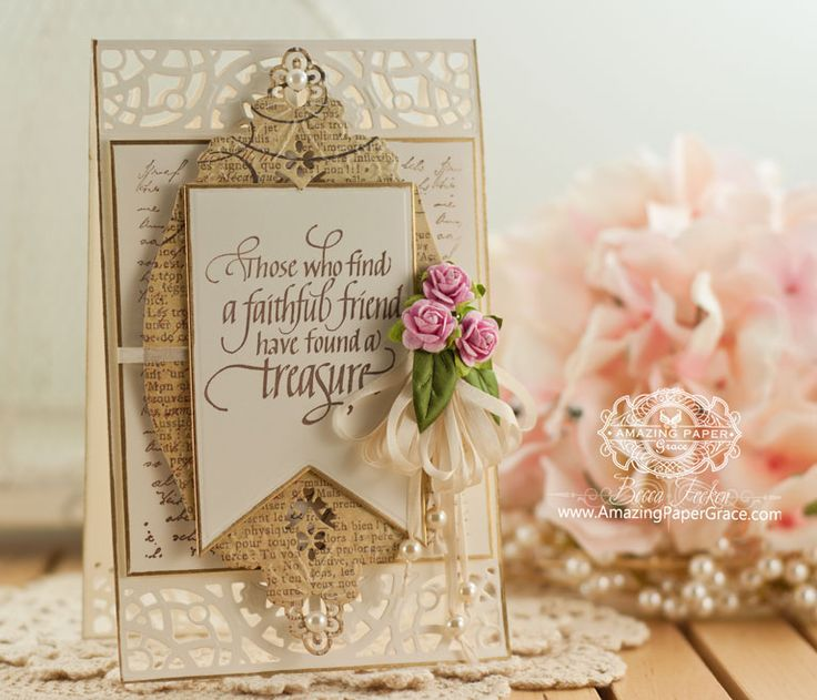 Delightful Card Making Ideas Using Dies Part - 14: Card Making Ideas By Becca Feeken Using Quietfire Design - When I Saw This  And Spellbinders Diamond Floral - Www.amazingpapergrace.com | Pinterest |  Becca, ...