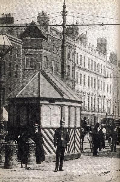 Cabman's shelter, Sackville Street