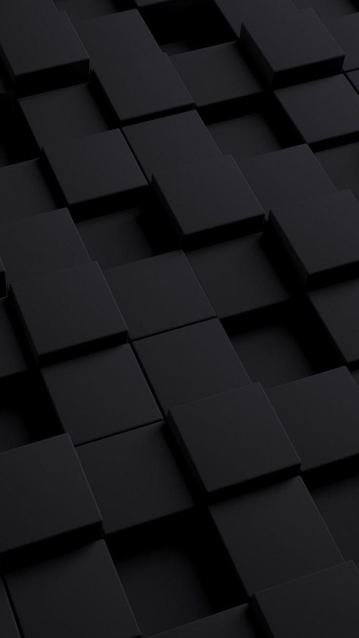 вместо фото на телефоне черные квадраты естественно