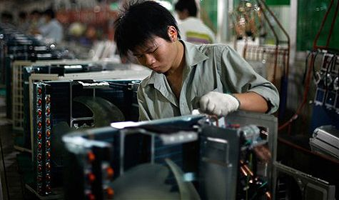 China manufacturing fails to fire in October