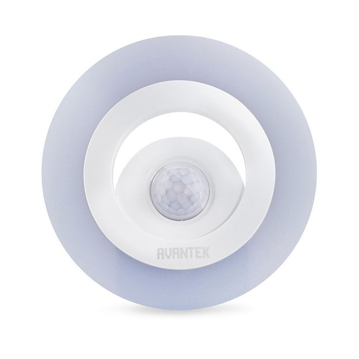 Circular Battery Powered LED Wireless Dimming Night Light Human Body Induction Lamp Bedside Lights