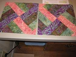 Jellyroll Quilt Pattern