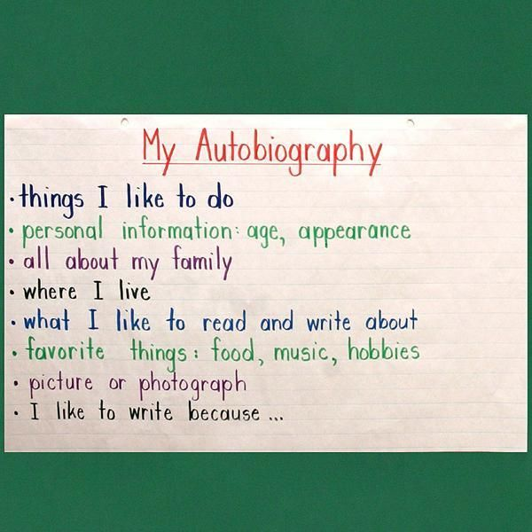 62 best Writing images on Pinterest Autobiography project - biography template
