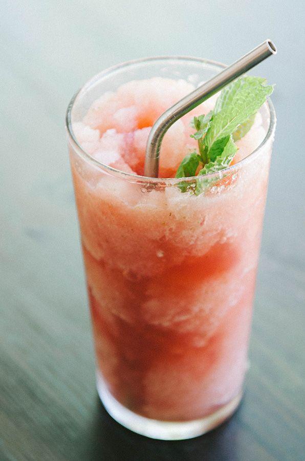 Watermelon + Mint Slushy   So Let's Hang Out