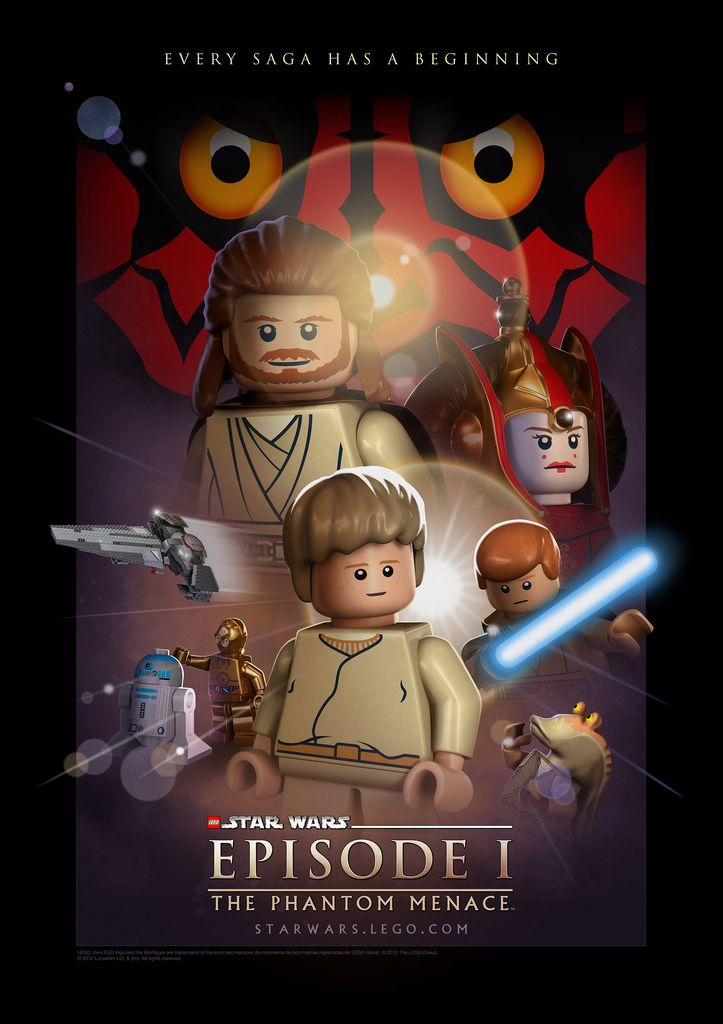 Love the Lego Star Wars -games #StarWars #LEGO #PS3