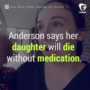 Let them know that this is not ok.  This mom has a daughter who requires medication to liveand sa #news #alternativenews