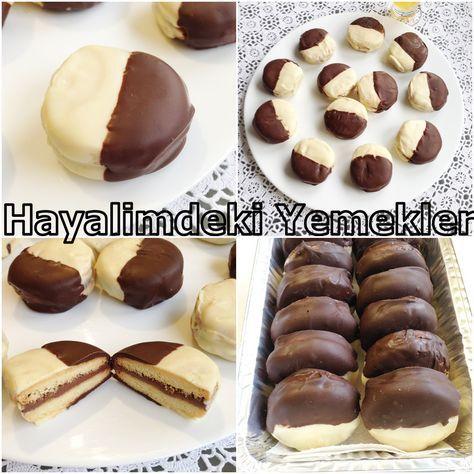 Çikolatalı ve Nutellalı Kurabiye