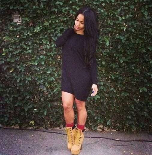 where to get timberland heels with dress