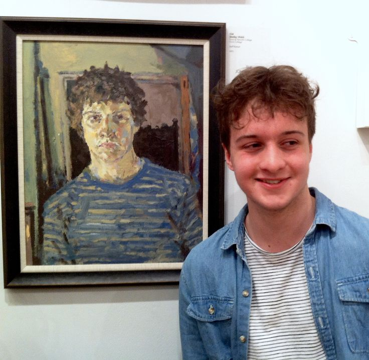 Winner of the 2015 John Ingram prize - RBA annual show in conjunction with NADFAS, Mall Gallery, London - A level Fine Art student, Truro College, Stan Welch