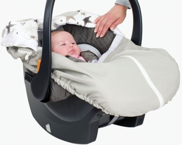 Infant Car Seat Covers for Winter: CruiseTime Cruise Cover Infant Car Seat Cover